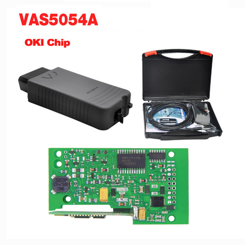 New ODIS V3.0.3 With Keygen VAS 5054A OKI Chip VAS5054A Bluetooth Support UDS VAS 5054 Full Chip VAS5054 Diagnostic Tool LR10 single green board multidiag pro 2014 r2 keygen
