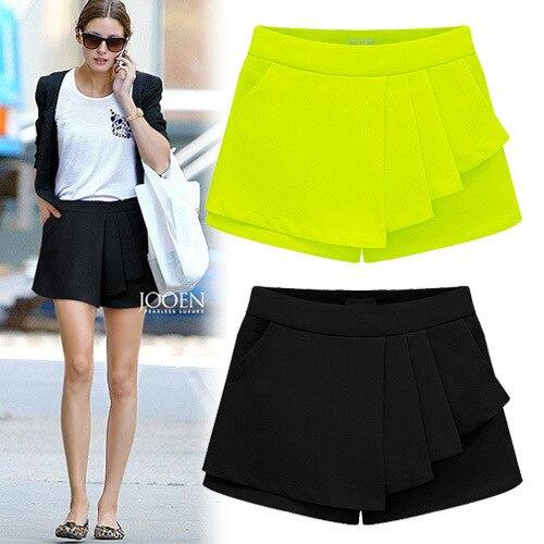 Online Shop 2015 Summer Popular Women's New Mini Shorts Solid ...