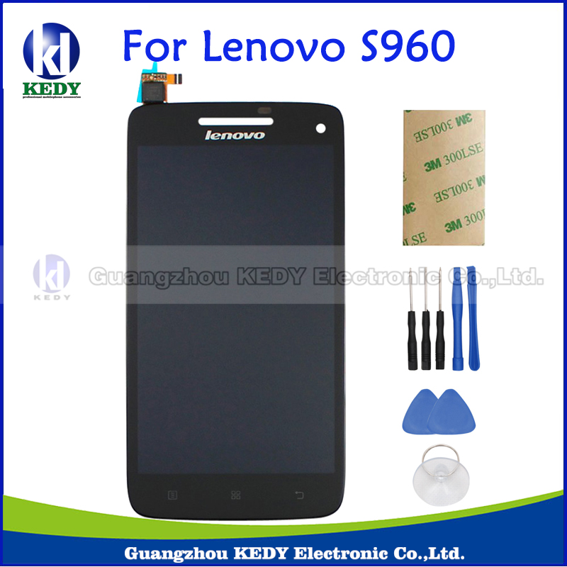 For Lenovo VIBE X S960 S960T Idea Phone LCD Display Touch Screen Digitizer Assembly Replacement Parts аксессуар чехол lenovo k10 vibe c2 k10a40 zibelino classico black zcl len k10a40 blk