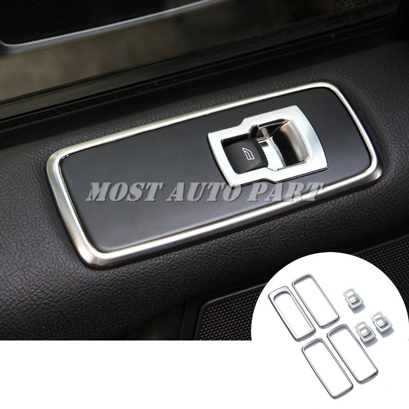 Couvercle de bouton de commutation de fenêtre de porte intérieure pour Land Rover Range Rover Sport 2010-2013