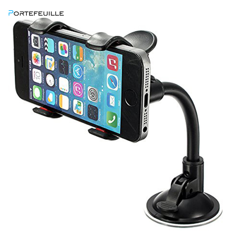 Portefeuille Universal Car Mobile Phone Holder Stand Dashboard Support Smartphone Voiture Ave Chargeur Ventouse Pare Brise Pince Phone Holders Stands Aliexpress