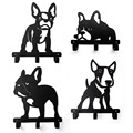 Bull dog series puppy creative hook original design clothes hanging iron 20 cm wide
