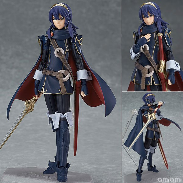 все цены на 1set 14CM pvc Japanese anime figure Fire Emblem: Awakening Figma 245 Luqina action figure collectible model toys brinquedos онлайн