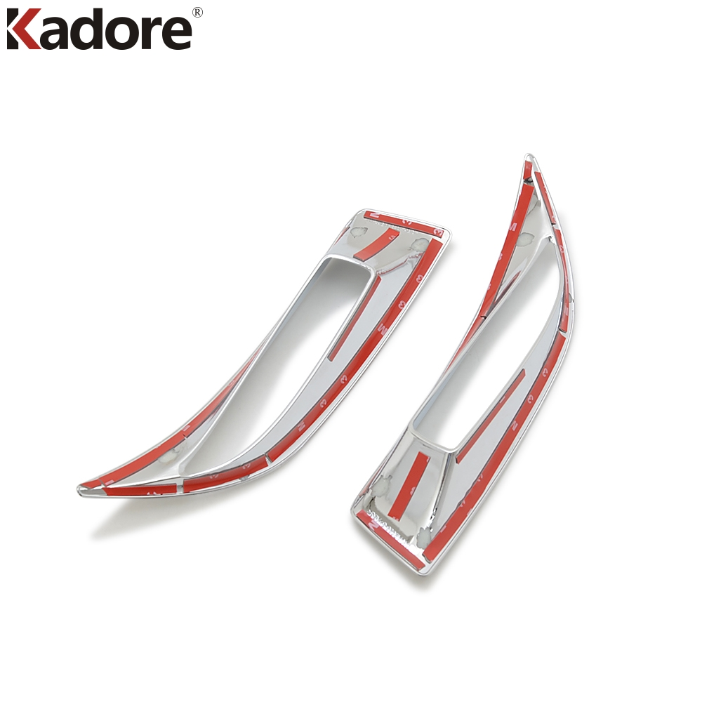 For Mazda 3 M3 Axela 2017 2018 ABS Chrome Rear Fog Lamp Decotation Cover Tail Foglight Shade Trim Car Styling Accessories Hood