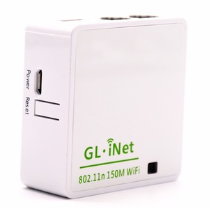 Image 5 - GL. iNet 6416 AR9331 802.11n 150 Mbps Wireless Mini WiFi Router OPENWRT Firmware Wi Fi Repeater Du Lịch Router 16 MB Flash/64 MB RAM