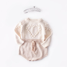 Knitted Baby Romper Autumn Newborn Baby Clothes