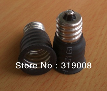 E12 to E14 bulb lamp adapter e12 light socket converter ,100pcs/lot via DHL FREE SHIPPING