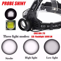 Super Cree XM L T6 LED Rechargeable 18650 Headlamp Headlight Head Torch USB 170120