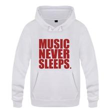 Music Never Sleeps hoodie