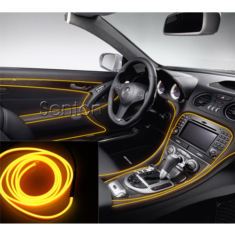Car Interior Atmosphere Lights Styling For  Toyota Corolla Avensis RAV4 Yaris Auris Hilux Prius verso For Buick Excelle Encore car shark fin antenna radio signal refitting accessories for toyota corolla rav4 yaris prius hilux avensis camry car styling