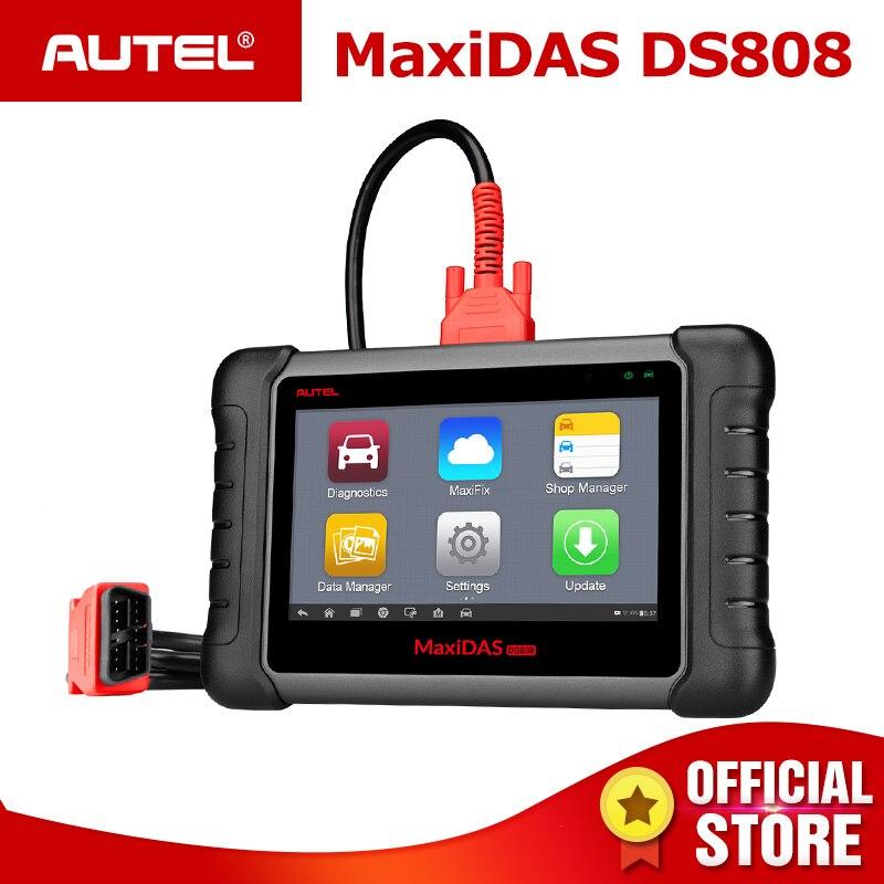 Automotive Scan Tool >> Autel Maxidas Ds808 Obd2 Automotive Scanner Obd 2 Car Diagnostic