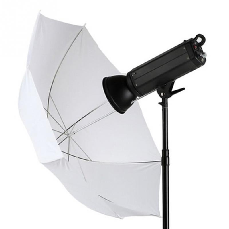 Good Quality 33 Inch Photography Studio Flash Diffuser Translucent Soft Light White Umbrella Camera Accessories #0908 gizcam durable camera 33 83cm inch translucent photo studio flash soft umbrella