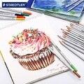 STAEDTLER водорастворимый цветной карандаш с оловянной коробкой красивый цветной свинцовый подарочный набор 12 & 24 & 36 & 48 & 60 на выбор 1 компл./лот