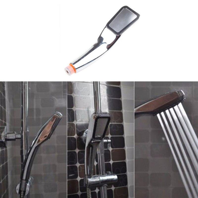 Evrensel ABS Krom Kaplama Basınçlı Su Tasarrufu Banyo El Duş Su - Evdeki Organizasyon ve Depolama - Fotoğraf 6