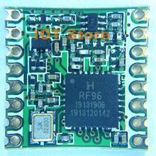 Darmowa wysyłka 10 sztuk RFM95 RFM95W 868Mhz 915Mhz LoRaTM bezprzewodowy nadajnik/odbiornik FCC ROHS europejski instytut norm telekomunikacyjnych (ETSI) dotrzeć do certyfikowany
