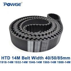 POWGE HTD 14M synchron gürtel C = 1918/1932/1946/1960/1988 breite 40/ 50/85mm Zähne 137 138 139 140 142 HTD14M 1932-14M 1960-14M