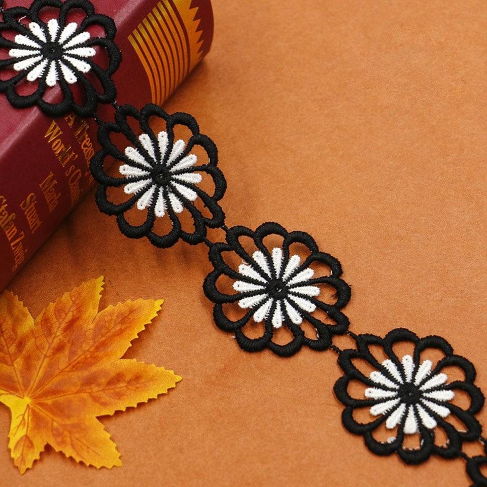 Ancho de la flor del ajuste del cordón de la flor de la anchura de - Artes, artesanía y costura