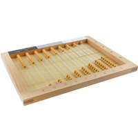 Wooden Montessori Math Material Montessori Flat Bead Frame Preschool Educational Abacus Learning Toys for Children ME1344H