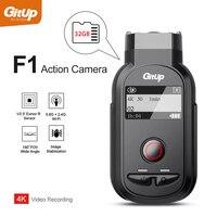 GitUp F1 Wi Fi 4 К 3840x2160 P Спорт действий Камера Ultra HD промежуток времени открытый вело видеокамера петля Регистраторы