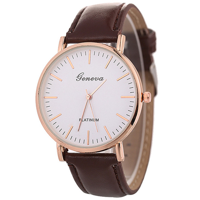 Leather Strap Bracelet Watch Women Watches Top Brand Luxury Ladies Fashion Casua