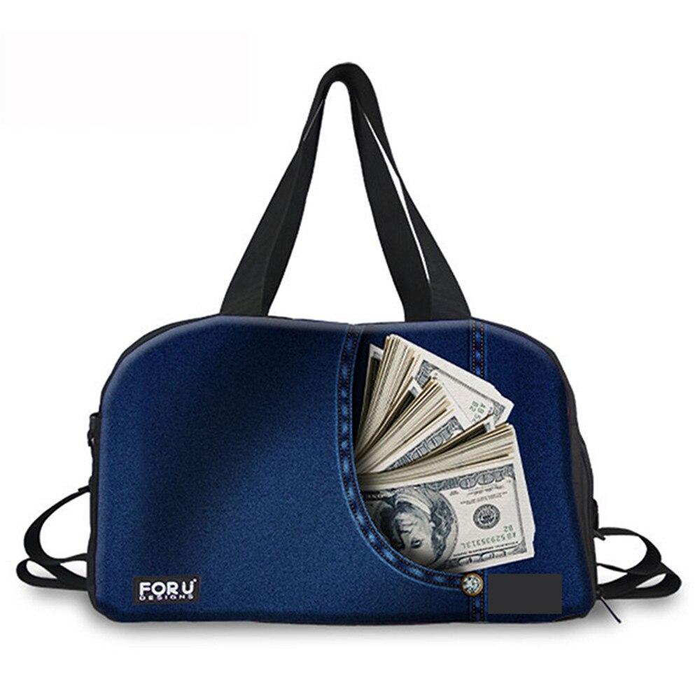Conceptions bruyantes Portable hommes bolsa grande grande capacité femmes bagages voyage sacs de voyage toile voyage sac pliant pour voyage grand