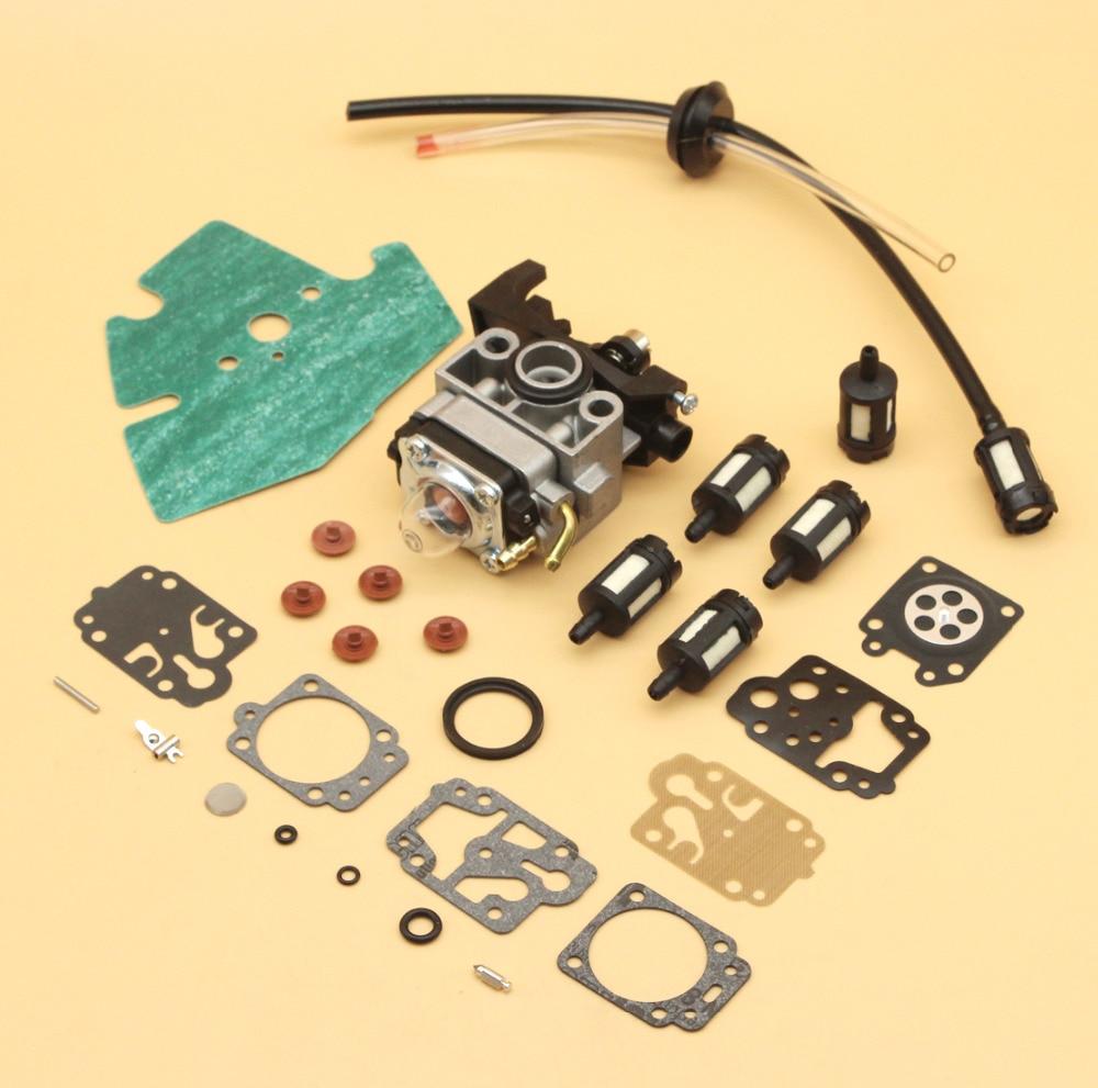 Carburetor Check Valve Fuel Filter Diaphragm Repair Kit For HONDA GX25 GX25N GX25NT FG110 FG110K1 HHT25S Replace 16100-Z0H-825