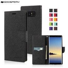 MERCURY GOOSPERY Fancy Diary Wallet Case for Samsung Galaxy Note 8