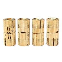LIXF 4Pcs 12mm Brass Barrel Invisible Hinge For Cabinet Door Caravan  Worktops Size: 12Mm