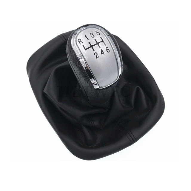 For Mazda 6 2008 2013 Gear Gaiter Shifter Boot Black Leather New: High Quality New 6 Speed Car Gear Shift Knob With Black Leather Boot For Skoda Octavia A5 2004