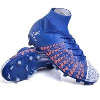 Futebol Sapatos de Alta Tornozelo Superfly FG Football Botas Longo Spikes Homens Adultos Crianças Originais Ao Ar Livre Chuteiras Atlético Atacado|Sapatos de futebol| |  -