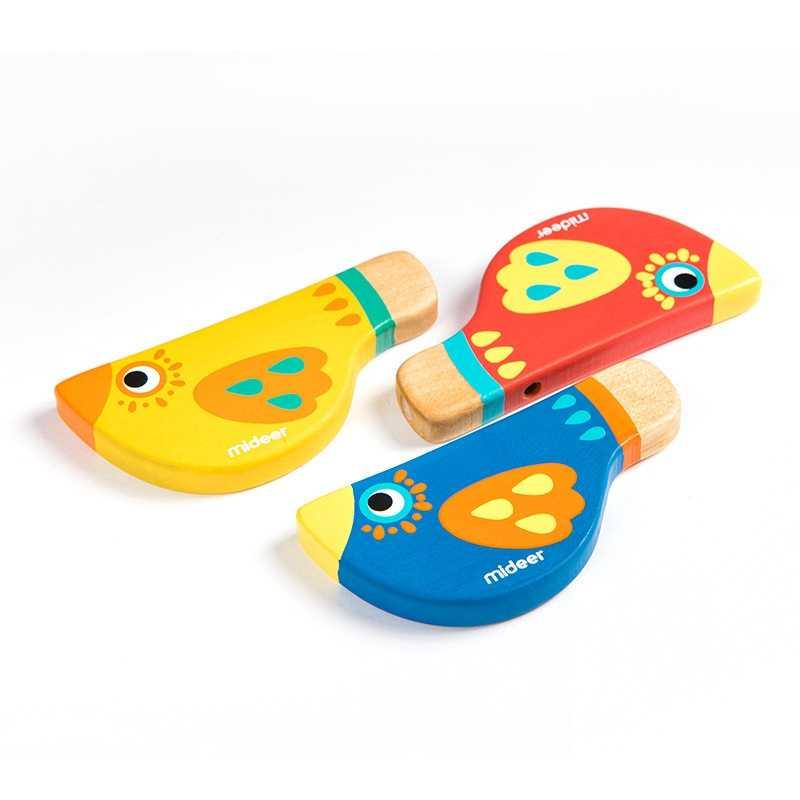 الخشب صافرة دمية موسيقية الموسيقى الطفل الخشب الفتيان الفتيات اللعب للأطفال خشبية التعلم التعليم لعبة الموسيقية أداة الهدايا