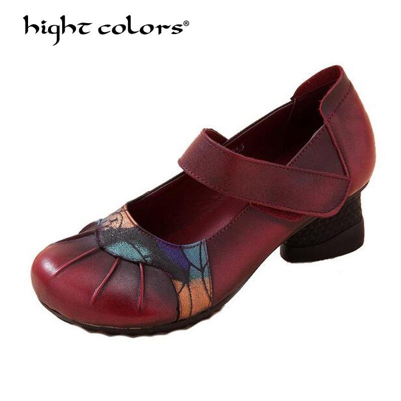 Women Shoes Mary Jane Ladies High Heels