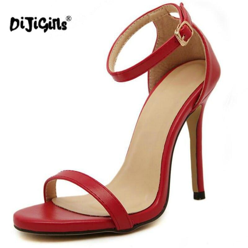 De rouge La blanc Plus or Hauts Cheville 41 Dames D'été Femmes Taille Boucle Chaussures 35 Stiletto Ol Talons Sandales Sexy Ouvert Style Noir Orteil kaki Travail Tn6qgSwp