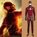 El Flash 2 Barry Allen Cosplay para Adultos Hombre Superhéroe traje Hecho A Medida puede comprar individuo MZX-157-04