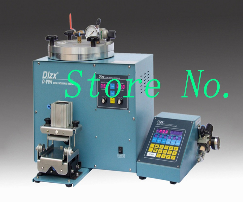 Newest Type Wax Injector Machine Casting Machine with Pedal Control Digital Screen