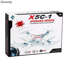 Niosung New X5C-1 2.4GHz 4CH 6 Axis RC Quadcopter With HD Camera Toy Gift
