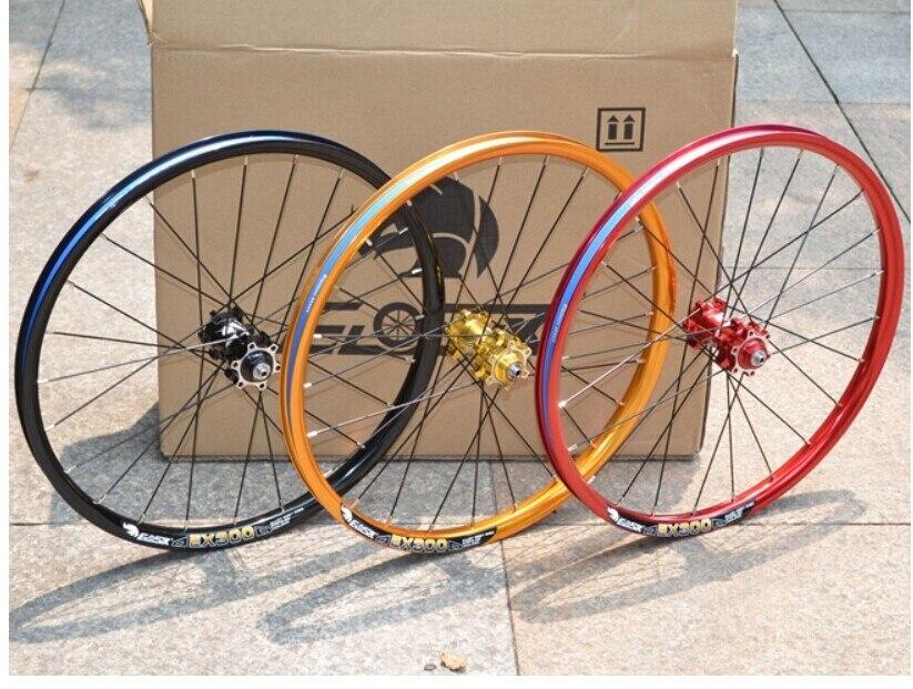EIOSIX 20 pouces roue de frein à disque pliant vélo roues de vélo droit tirer 100/135mm 24 trous