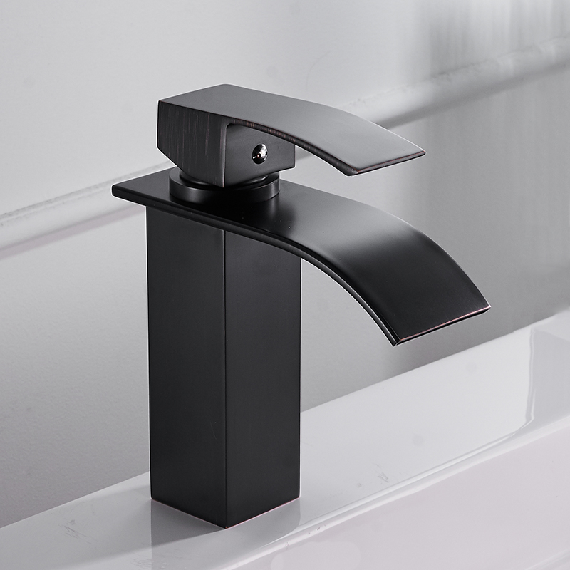 Xueqin Copper Basin Faucet Hot and Cold Water Deck Mounted Kitchen Folding Cockpit Caravan 360 Rotation