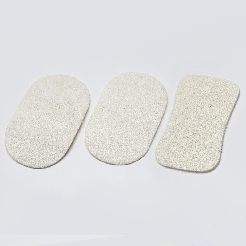 Natural Loofah Sponge Rectangle Loofah Pad Body Exfoliating Loofah Bath Shower Hotel Home Bathroom Accessories ZA5738