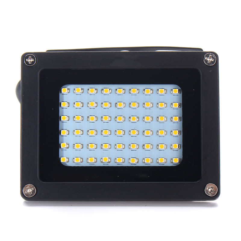 Luz solar 54 led sensor escuro lâmpada