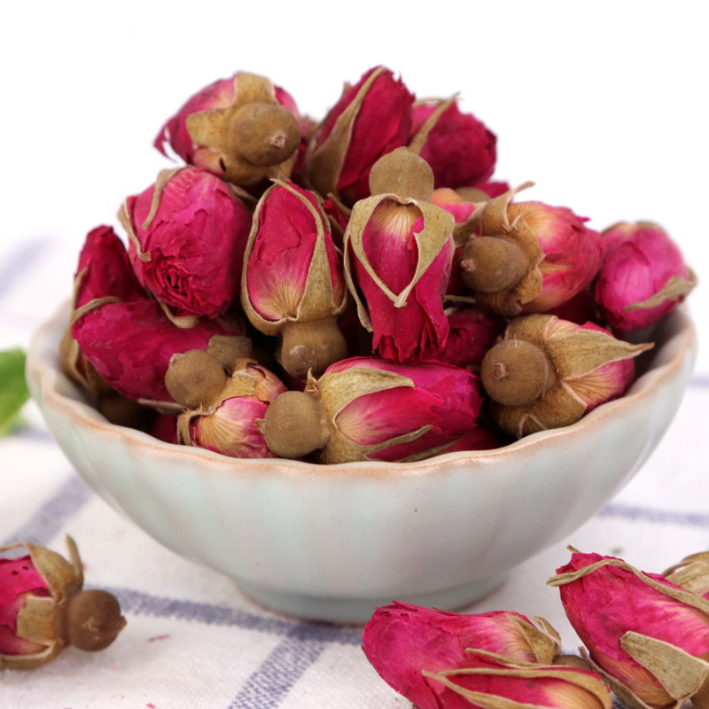 Dried Natural Flowers Mini Rose Bud Dry Flower Forget Me Not Petals Wedding Centerpieces Crafts  Sachet Bag 25g