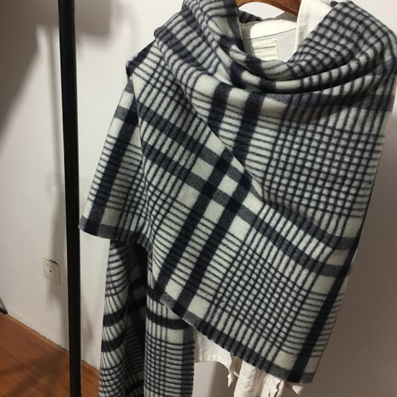 Winter Scarf Funny Pineapple Premium Imitation Cotton Fibre Unique Design Scarves Unisex
