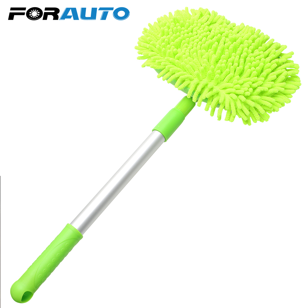 Car Washing Mop Window Wash Tool Super absorbent Car Cleaning Car Accessories Adjustable Auto Care Detailing Dust Wax Mop