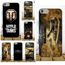 TPU Fresco Melhor Capa Caso World Of Tanks Para Apple iPhone 4 4S 5 5C 5S SE 6 6 S 7 8 Plus X Para LG G3 G4 G5 G6 K4 K7 K8 K10 V10 V20(China)