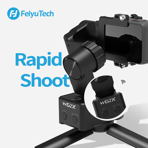 Image 2 - FeiyuTech WG2X Wearable Mountable Action Camera Gimbal Splash proof Stabilizer for GoPro Hero 7 6 5 4  Sony RX0 Action Camera