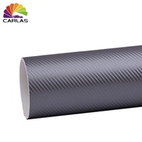 1,52*30 м 3D углеродное волокно покрытие Защитная автомобильная пленка