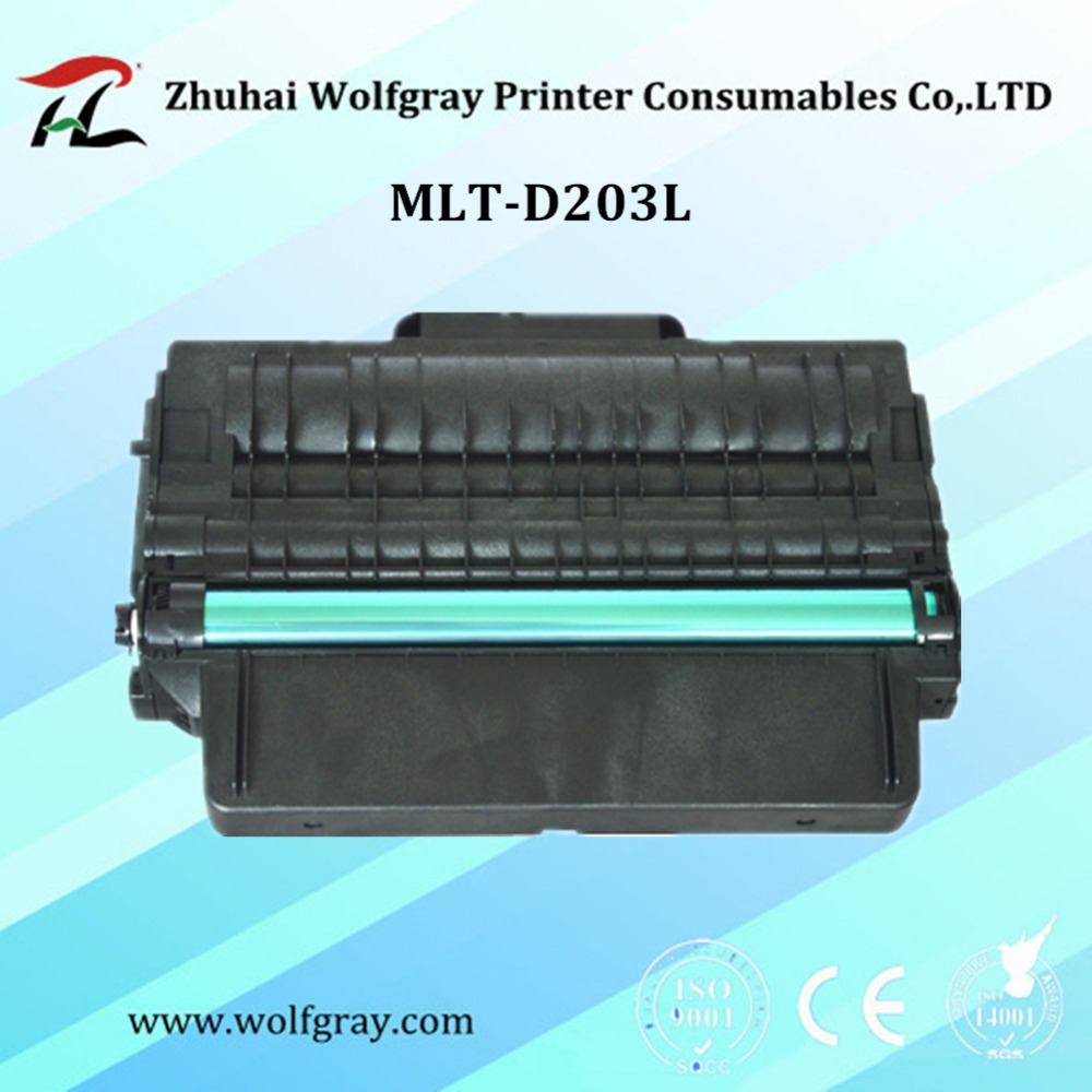 YI LE CAI Compatible for Samsung D203L toner cartridge D203 203L Xpress SL-M3320ND/M3370FD/M3820DW/M3870FW/M4020/M4070FW toner for samsung sl2020 w mlt1112 see mltd 1113 s xaa xpress sl m2071 hw new copier cartridge free shipping