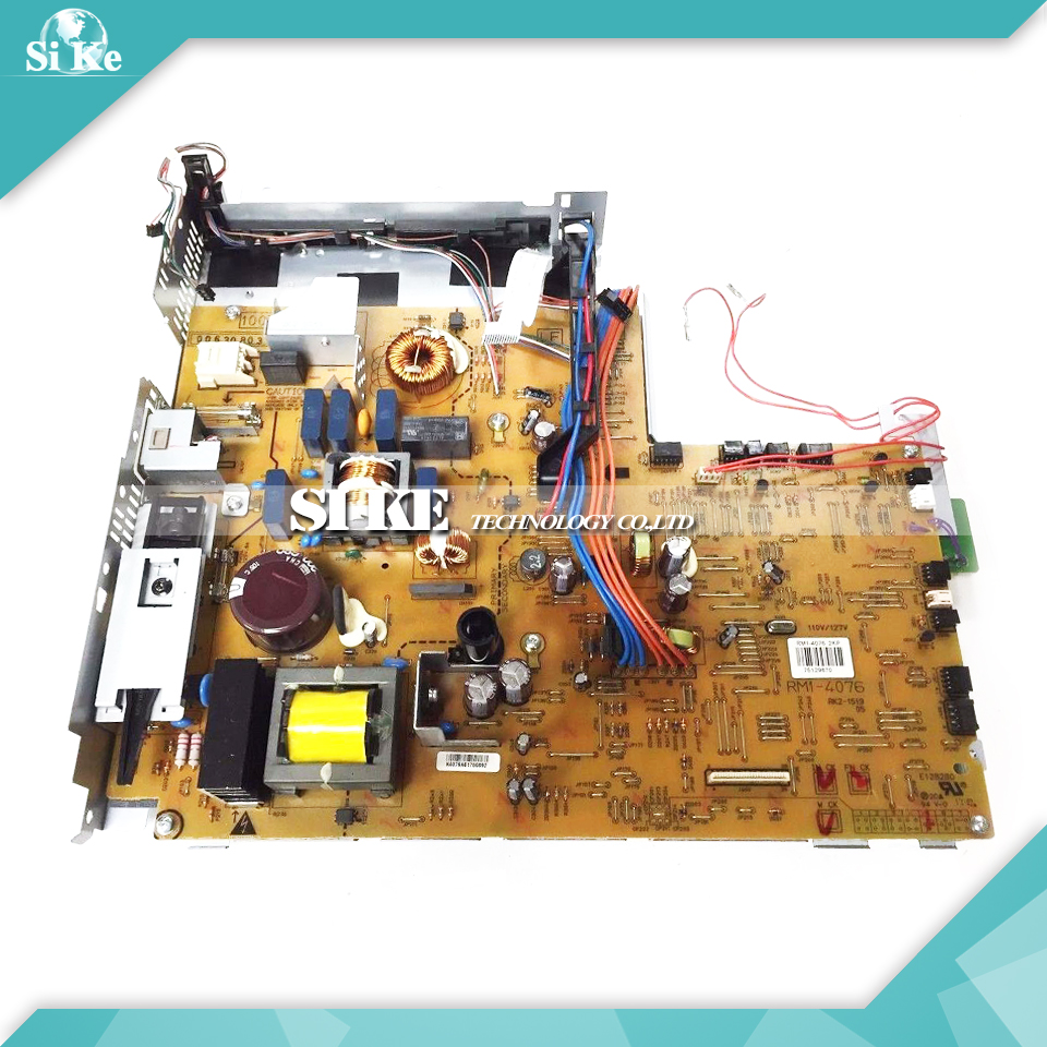 LaserJet Engine Control Power Board For HP M3025 M3035 3035 3027 3025 MFP RM1-4076 RM1-4077 Voltage Power Supply Board laserjet engine control power board for hp color laserjet cm1015 cm1017 rm1 4364 rm1 4363 1015 1017 voltage power supply board