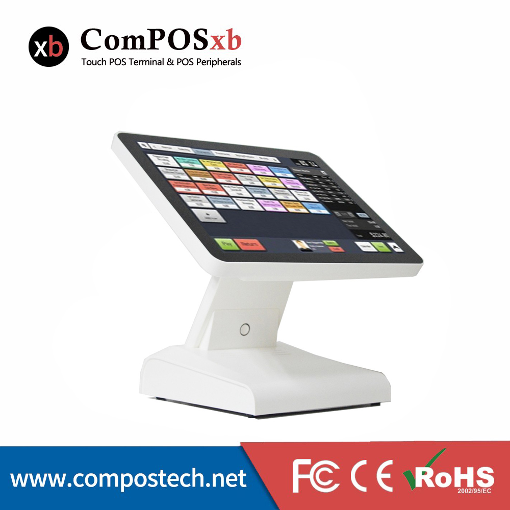 1619B Compos 15 Inch Touch Screen Display Cash Register Cash Register Can Be Customized Built-In Speaker With MSR