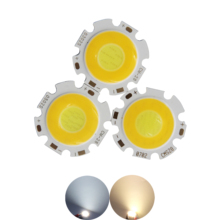 Double color 3000-6500K dimmable 28mm Round LED COB chip Light Source Module 3W 5W 7W led bulb lamp for spotlight